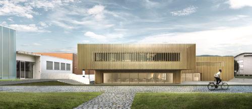 Bibliothèque à Crassier