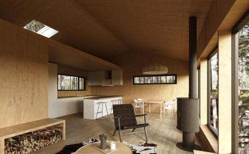Cabin in Senum